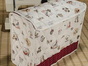 Шьем чехол для швейной машинки   Ярмарка Мастеров - ручная работа, handmade