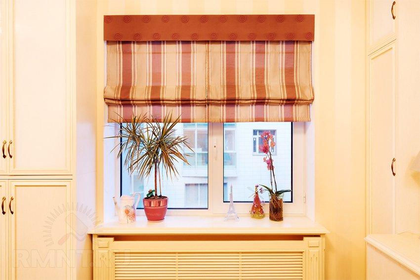 Инструкция пошива римских штор