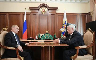 Путин предложил Полтавченко возглавить совет директоров ОСК
