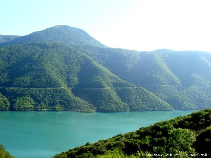 Грузия: Божественное место, романтическая и загадочная природа