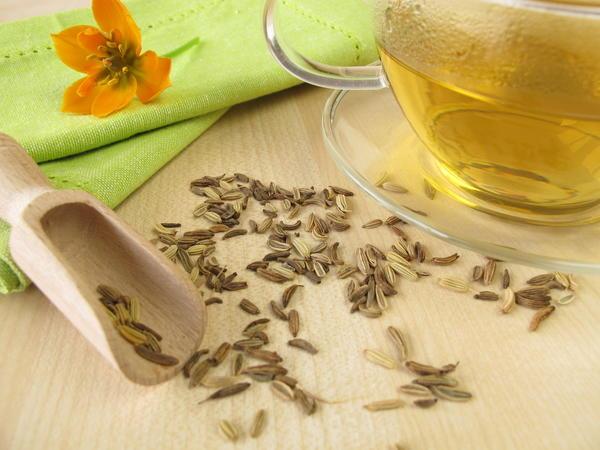 Чай от спазмов в желудке и метеоризма