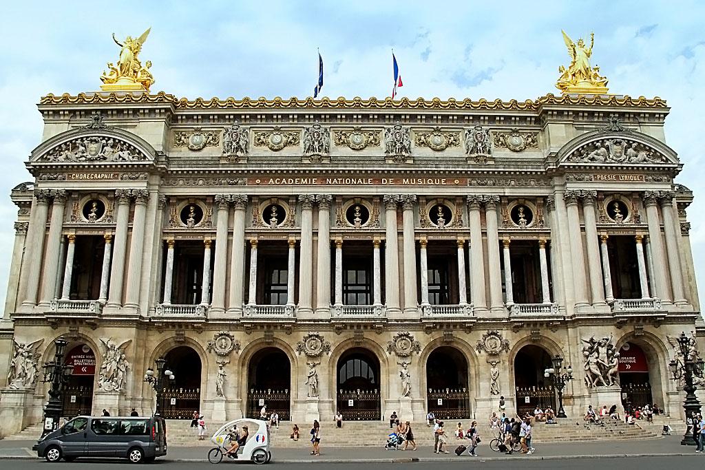 ОПЕРА ГАРНЬЕ (Париж) - впечатления неугомонного фотографа! - ЧАСТЬ ПЕРВАЯ