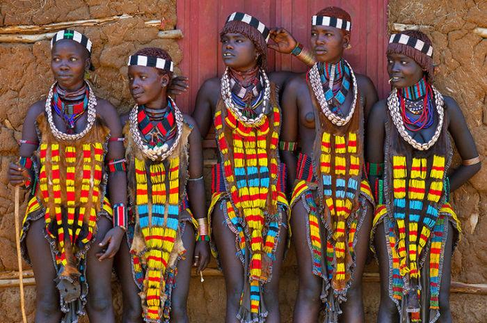 Какие украшения носят самые красивые девушки Эфиопии