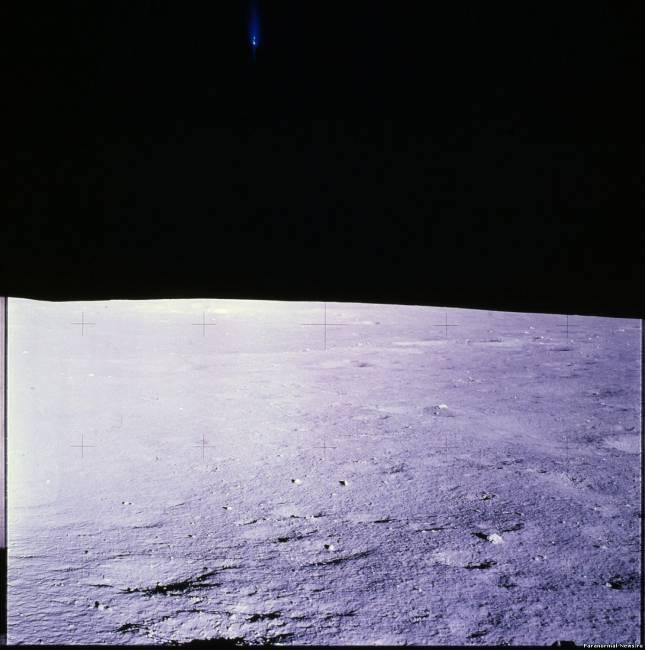 Нечто над поверхностью Луны