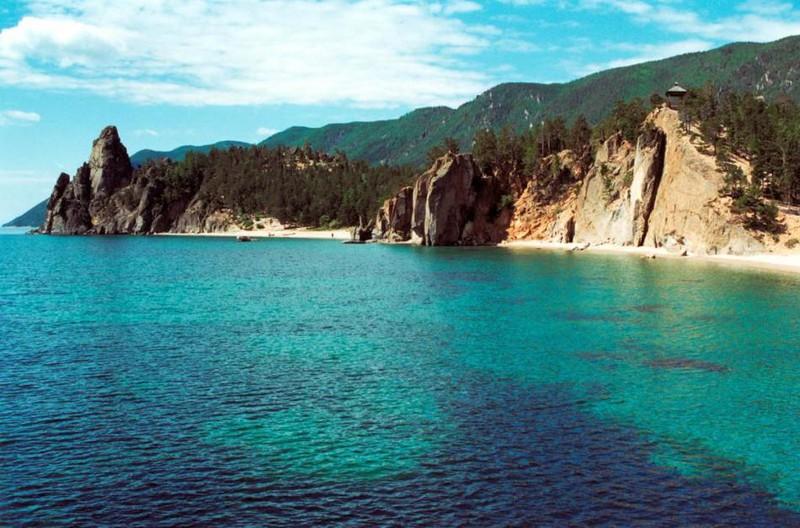 7. Светящаяся вода. байкал, загадки, озеро