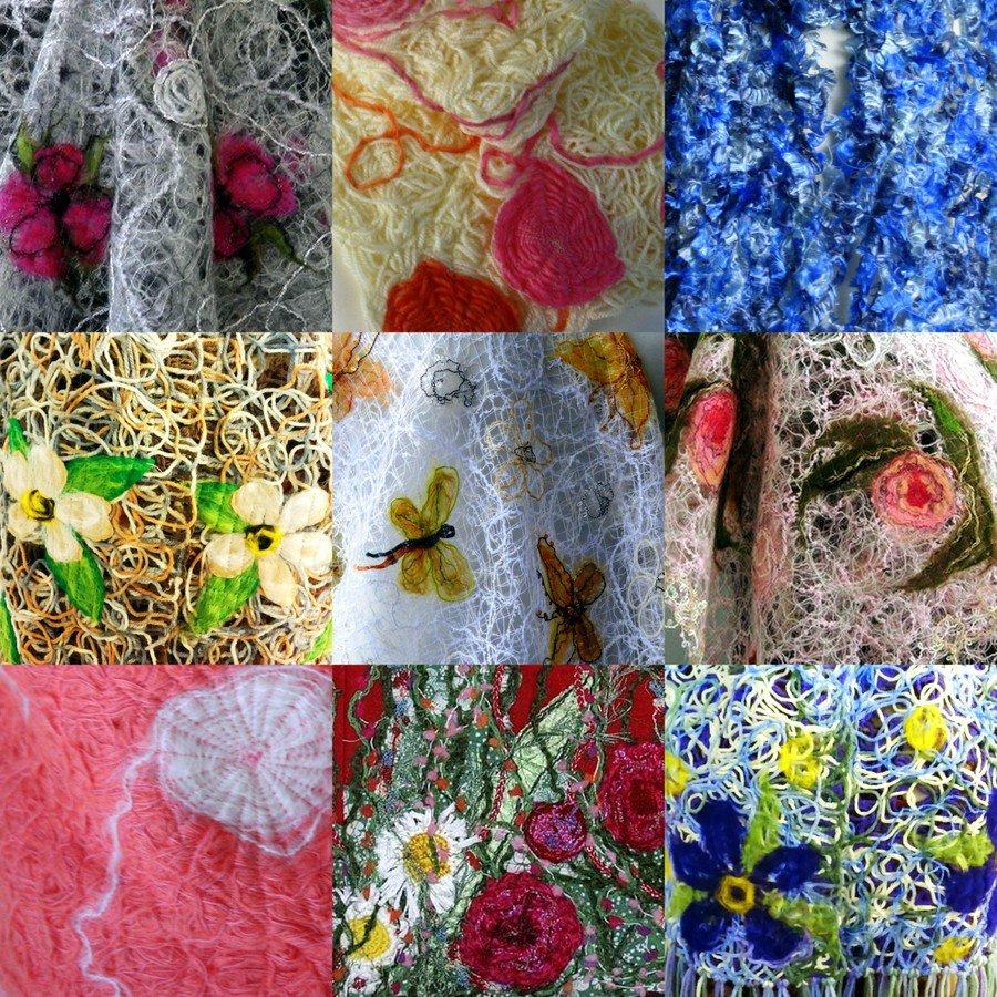Crazy wool Мастер-классы и много красоты