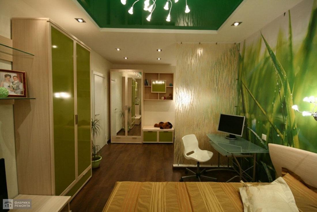 Зеленый потолок - отдых и спокойствие