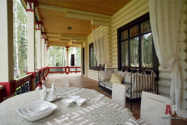 Проект деревянных домов с террасой найдем вам форму