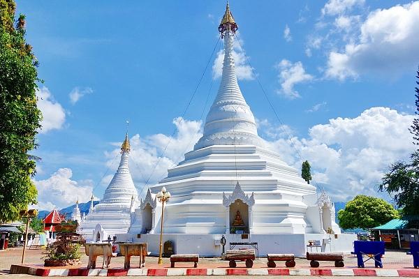 Храм Дой Конг Му в Мэхонгсон…