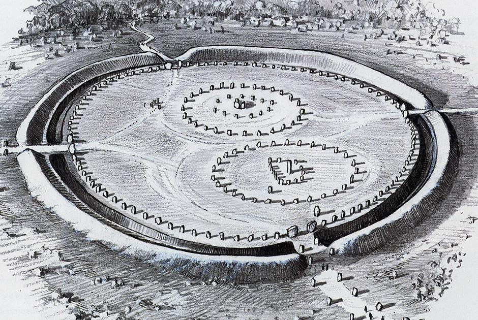 Побратим Стоунхенджа: мегалитический комплекс Эйвбери