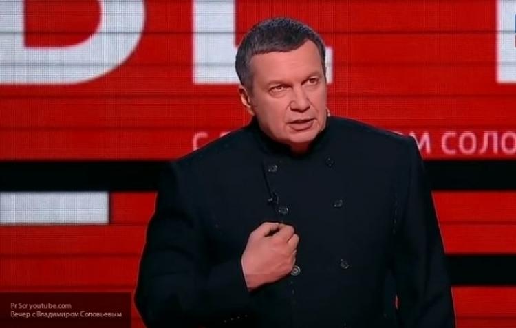 Соловьев глубоко копнул в деле «большого скандала» с мельдонием и Россией