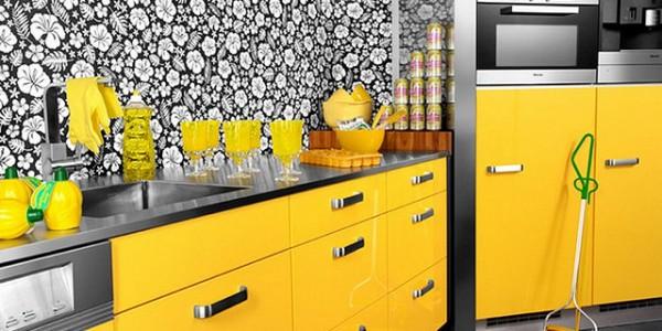 Желтые кухни-1