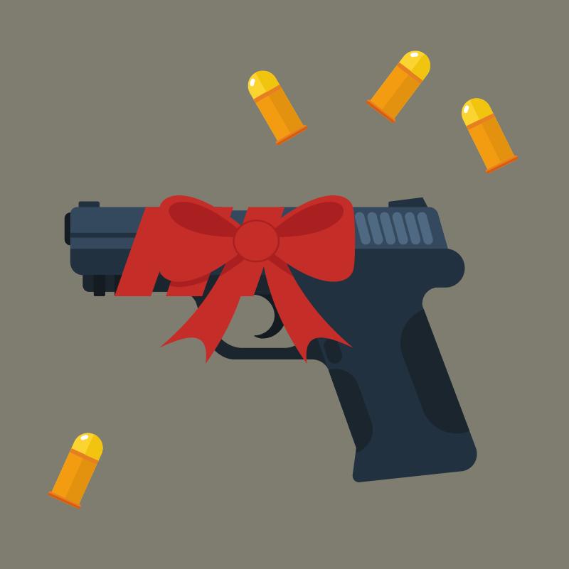 Анекдот пробандита, подарившего сынупистолет насовершеннолетие