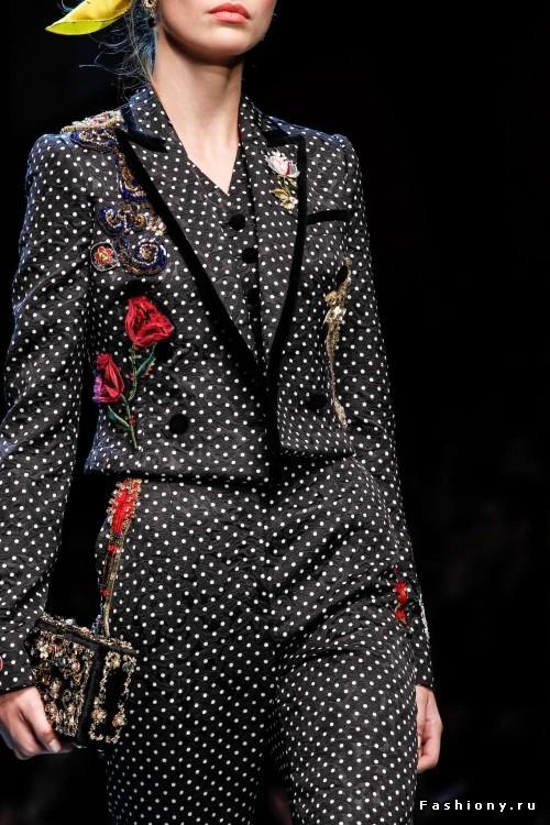 Dolce & Gabbana Весна-Лето 2016 - красота в деталях