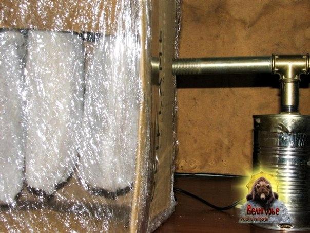 Дымогенератор для холодного копчения своими руками из огнетушителя