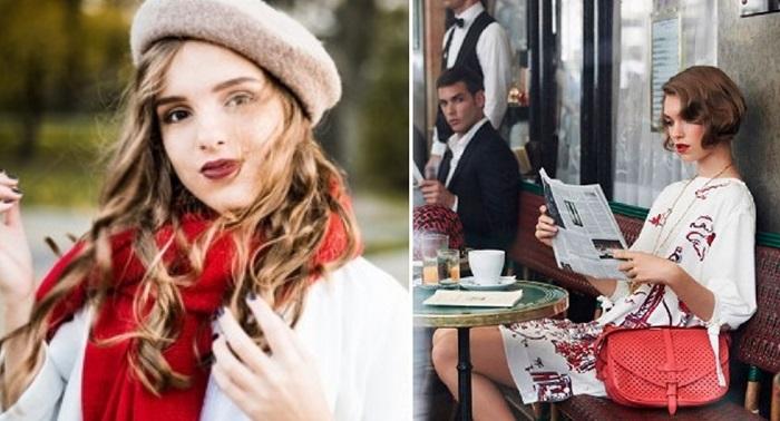 французский стиль в одежде зима