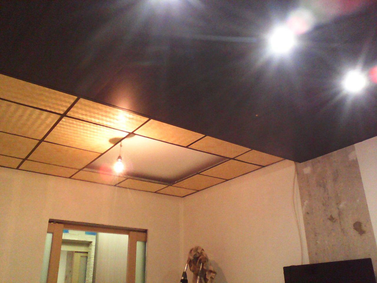 Вместо плит использую натуральное бамбуковое полотно (очень колоритный материал) ремонт, рукожопие, японский стиль