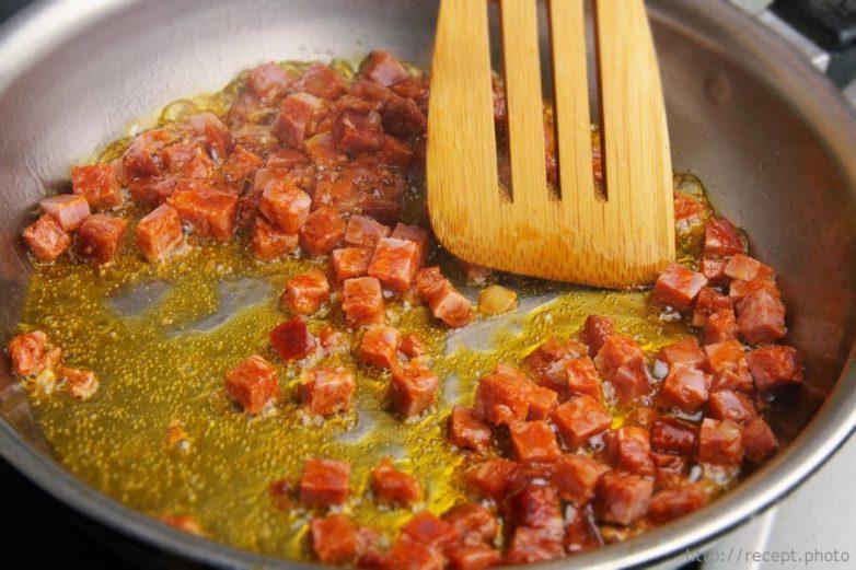 Омлет в духовке по-испански