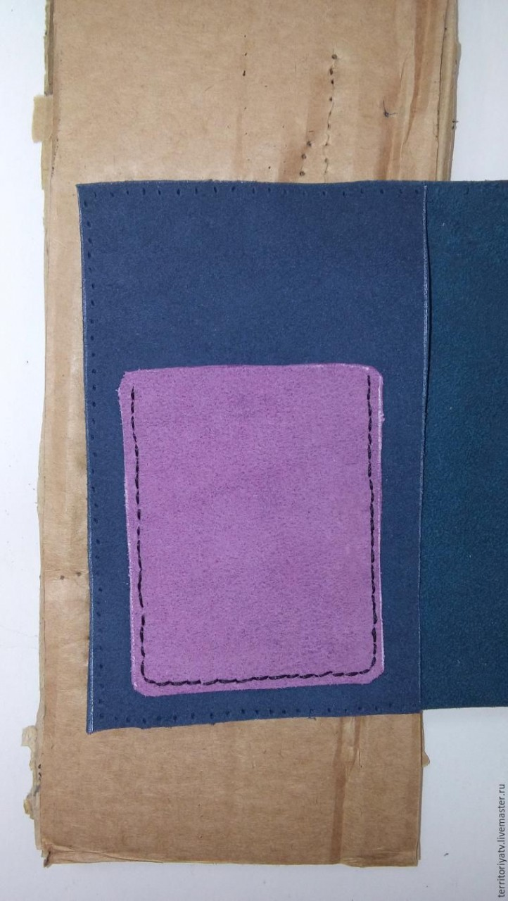 Шьем портмоне из натуральной кожи: быстро и просто