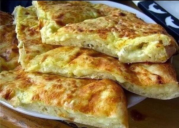 """Как приготовить  хачапури """"Ленивенькие""""  к завтраку очень просто"""