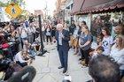 Bernie takes his revolution …