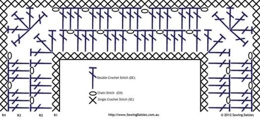 схема обвязки пледа