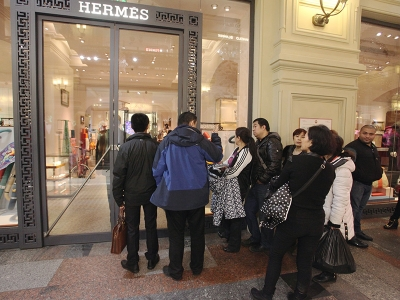 Паническая атака на магазины