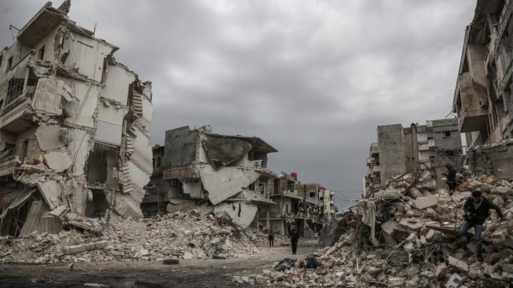 Россия опять виновата: США, Франция, ФРГ и Британия нашли предлог, чтобы не восстанавливать Сирию