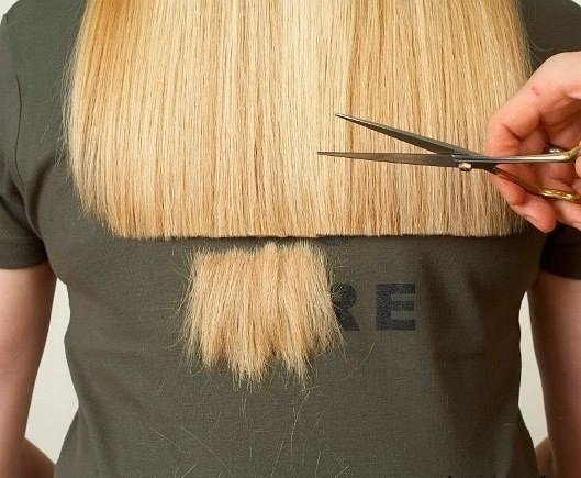 подстричь волосы машинкой дома