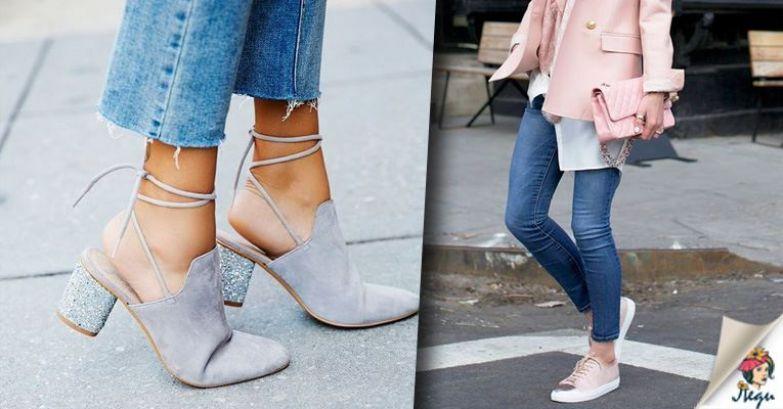 14 самых стильных сочетаний обуви и джинсов