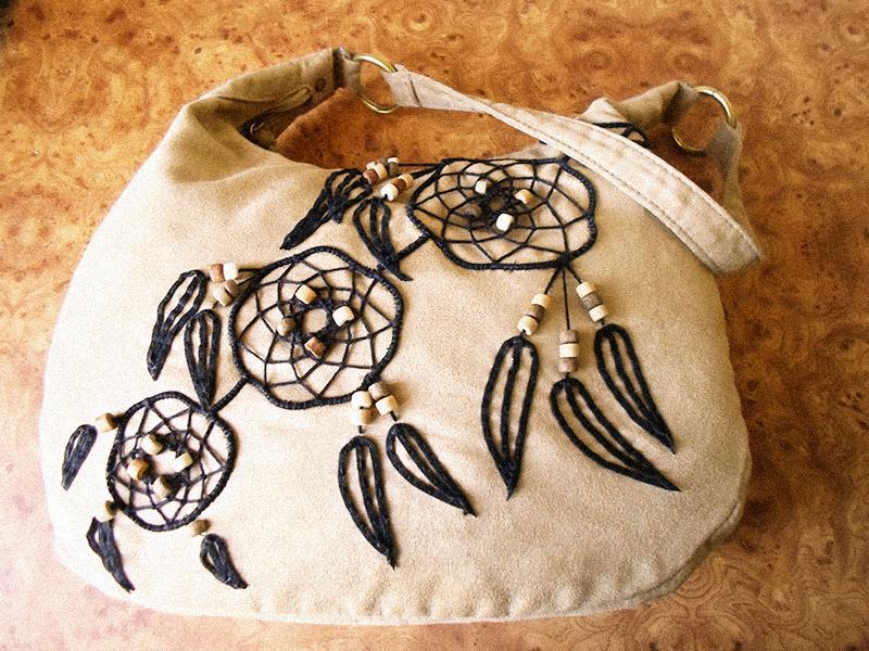 Декор сумки своими руками