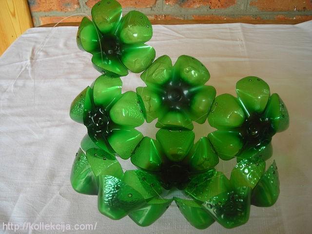 Как из пластиковых бутылок сделать шар из
