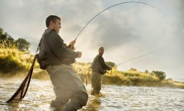 рыбалка нахлыстом заброс