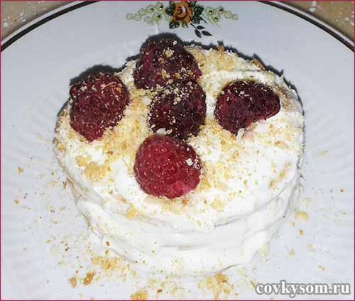 Пирожные с сыром Маскарпоне