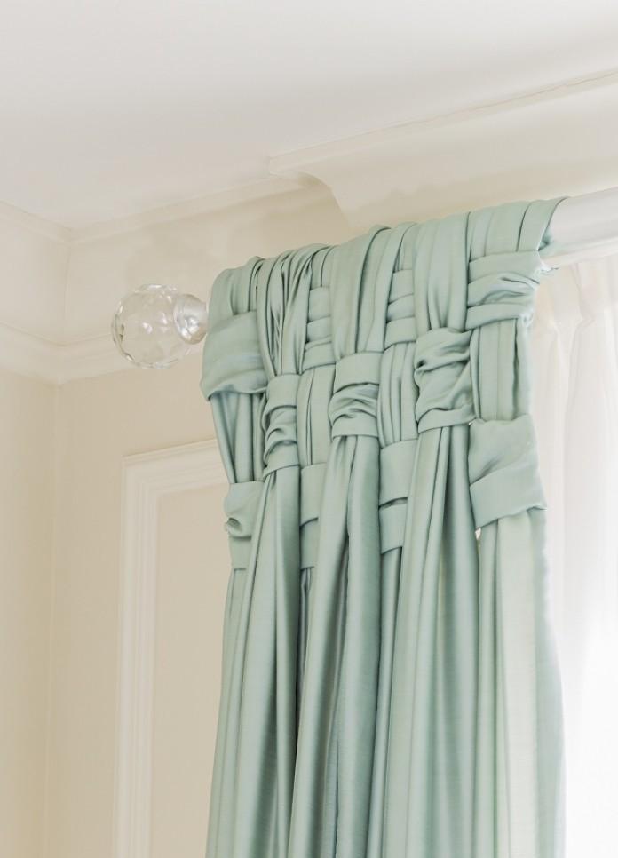 Оригинальные шторы своими руками фото