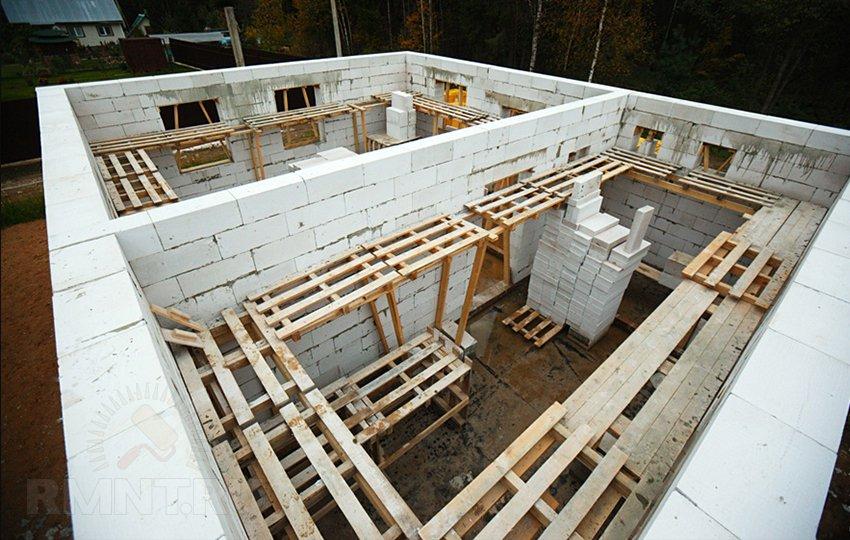 Построить дом своими руками из блока