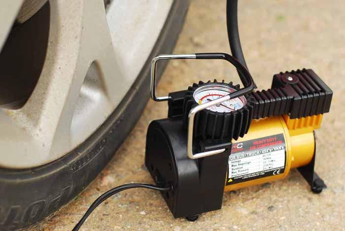 компрессор для автомобильных шин
