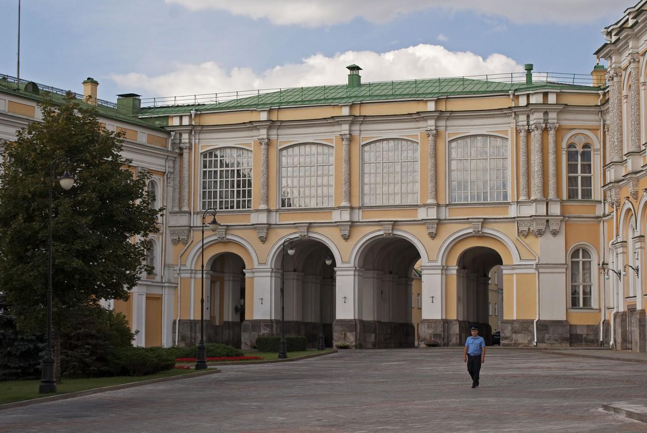 внутренее строение кремля схема