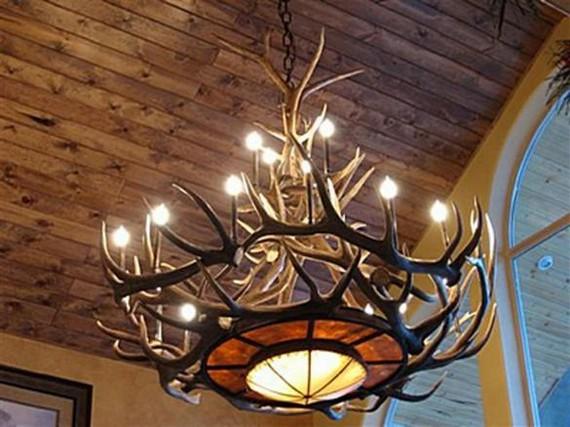 деревянные люстры под старину