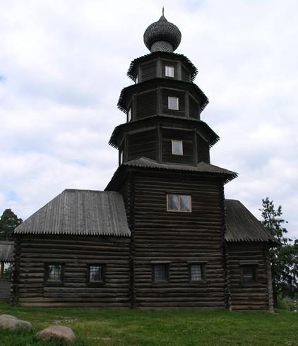 Деревянная Старовознесенская церковь