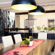 Идеи интерьера кухни с фотообоями-7
