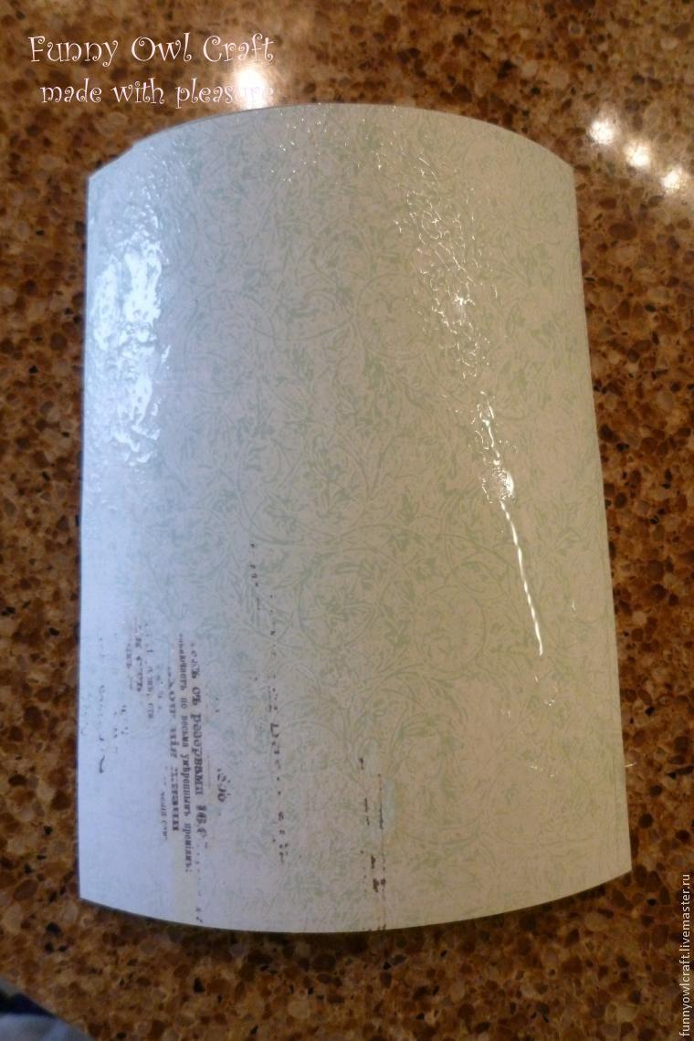 Как сделать тиснение листа бумаги подручными средствами