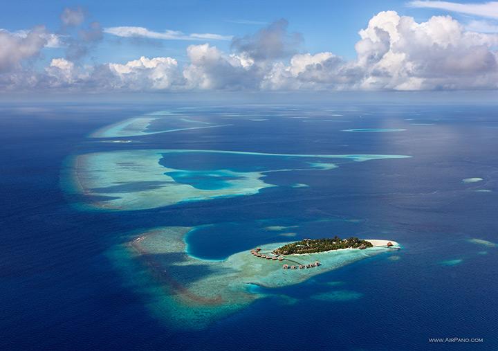 Гостиница на тропическом острове, Мальдивы