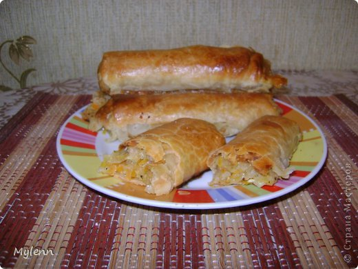 Доброго времени суток,дорогие Мастера и Мастерицы:)Предлагаю вам приготовить необыкновенно лёгкое в исполнении и очень вкусное блюдо-капустные трубочки. фото 1