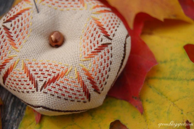 Вышивка шведское плетение —  это просто, быстро и эффектно. Мини МК