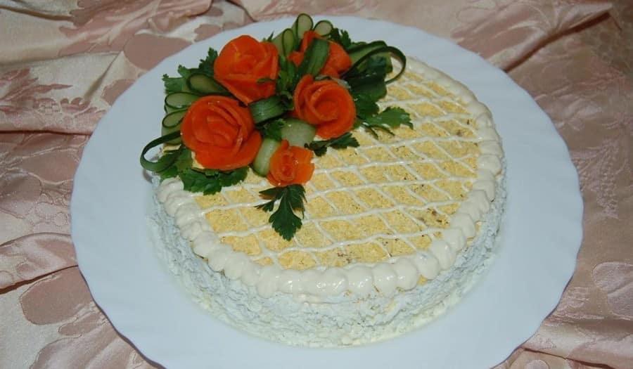 Торт из печени рецепт в домашних условиях