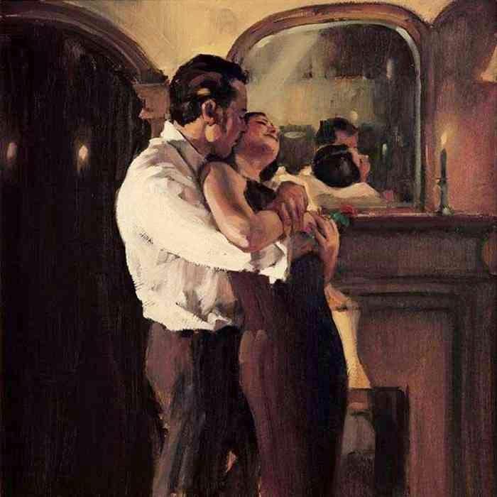 Фигуративная живопись. Raymond Leech