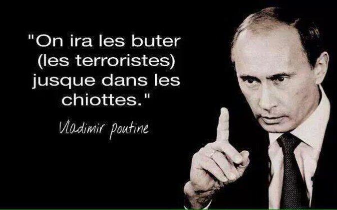 Цитата Путина «Мочить в сортире» стала хитом французских соцсетей