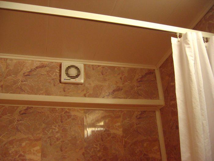 Вентиляция ванной своими руками
