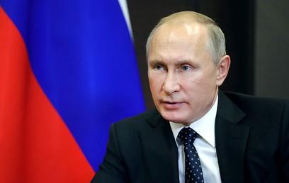 Путин обсудил с Совбезом активность террористов в Идлибе